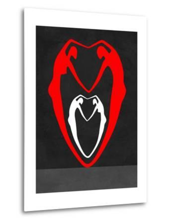 Red and White Heart-Felix Podgurski-Metal Print