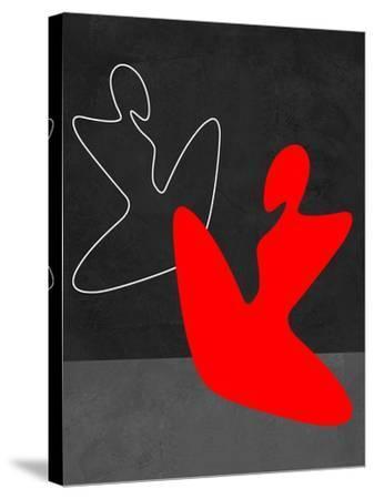 Red Girl 1-Felix Podgurski-Stretched Canvas Print