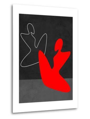 Red Girl 1-Felix Podgurski-Metal Print