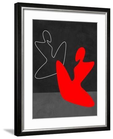 Red Girl 1-Felix Podgurski-Framed Art Print