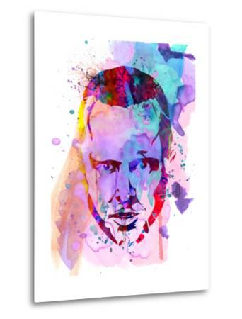 Jesse Watercolor-Anna Malkin-Metal Print