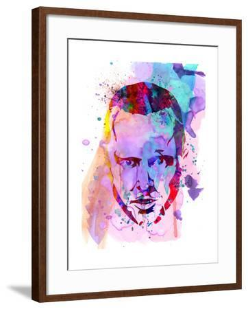 Jesse Watercolor-Anna Malkin-Framed Art Print