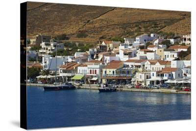 Korissia Harbour, Kea Island, Cyclades, Greek Islands, Greece, Europe-Tuul-Stretched Canvas Print
