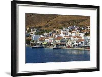 Korissia Harbour, Kea Island, Cyclades, Greek Islands, Greece, Europe-Tuul-Framed Photographic Print