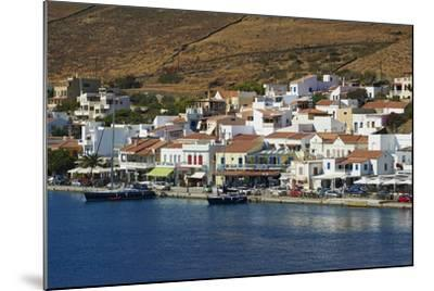 Korissia Harbour, Kea Island, Cyclades, Greek Islands, Greece, Europe-Tuul-Mounted Photographic Print