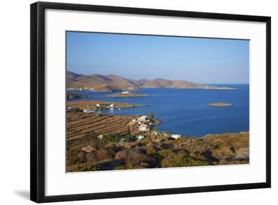 Kythnos, Cyclades, Greek Islands, Greece, Europe-Tuul-Framed Photographic Print