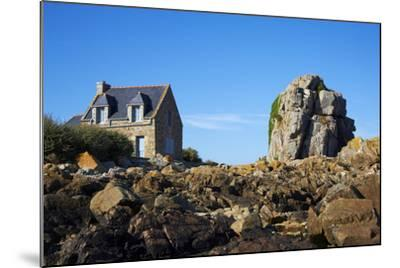 Pors Hir Harbour, Cote De Granit Rose, Cotes D'Armor, Brittany, France, Europe-Tuul-Mounted Photographic Print