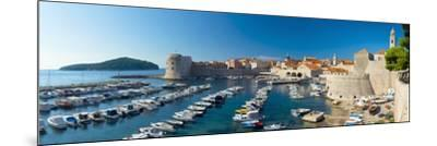 Old Harbour and Town (Stari Grad), UNESCO World Heritage Site, Dubrovnik, Dalmatia, Croatia, Europe-Alan Copson-Mounted Photographic Print