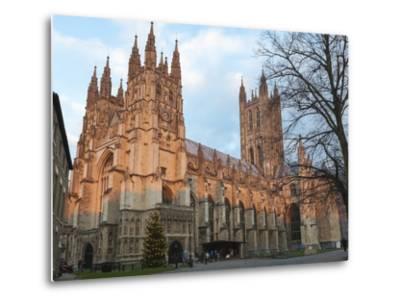 Canterbury Cathedral-Charlie Harding-Metal Print