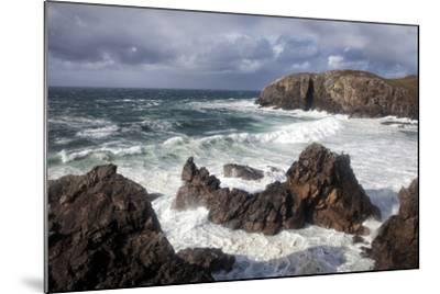 Heavy Seas Pounding the Rocky Coastline at Dalbeg-Lee Frost-Mounted Photographic Print