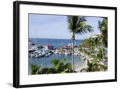 The Leverick Bay Resort and Marina-Jean-Pierre DeMann-Framed Photographic Print