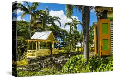 Romney Manor on St. Kitts-Michael Runkel-Stretched Canvas Print