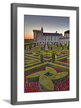 The Chateau of Villandry at Sunset-Julian Elliott-Framed Photographic Print