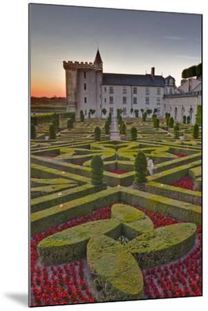The Chateau of Villandry at Sunset-Julian Elliott-Mounted Photographic Print