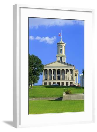 Bicentennial Capitol Mall State Park and Capitol Building-Richard Cummins-Framed Photographic Print