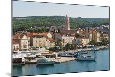 Supetar Harbour and the Church of the Annunciation-Matthew Williams-Ellis-Mounted Photographic Print