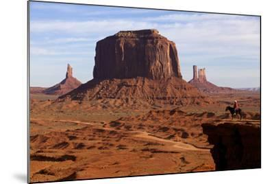 Adrian, Last Cowboy of Monument Valley, Utah, United States of America, North America-Olivier Goujon-Mounted Photographic Print