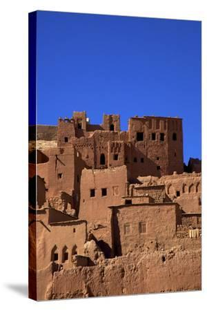 Ait-Benhaddou Kasbah, UNESCO World Heritage Site, Morocco, North Africa, Africa-Neil Farrin-Stretched Canvas Print