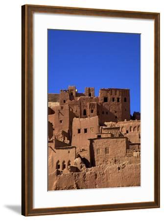 Ait-Benhaddou Kasbah, UNESCO World Heritage Site, Morocco, North Africa, Africa-Neil Farrin-Framed Photographic Print
