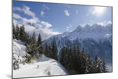 Brevant Ski Area, Aiguilles De Chamonix, Chamonix, Haute-Savoie, French Alps, France, Europe-Christian Kober-Mounted Photographic Print