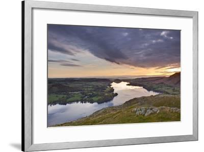 Ullswater in the Lake District National Park, Cumbria, England, United Kingdom, Europe-Julian Elliott-Framed Photographic Print