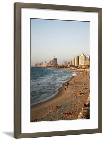 Beach, Tel Aviv, Israel, Middle East-Yadid Levy-Framed Photographic Print