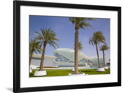 Viceroy Hotel, Yas Island, Abu Dhabi, United Arab Emirates, Middle East-Frank Fell-Framed Photographic Print