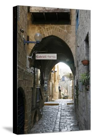 Alleys in the Old Jaffa, Tel Aviv, Israel, Middle East-Yadid Levy-Stretched Canvas Print