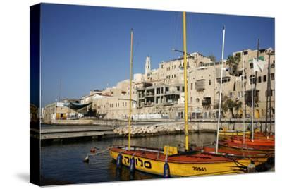 View over the Port and Old Jaffa, Tel Aviv, Israel, Middle East-Yadid Levy-Stretched Canvas Print