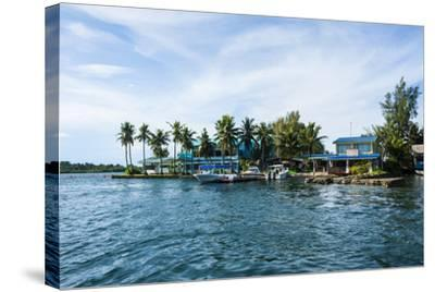 The Harbour of Koror, Palau, Central Pacific, Pacific-Michael Runkel-Stretched Canvas Print