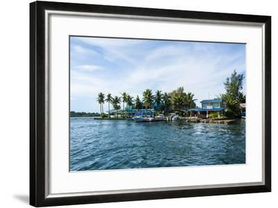 The Harbour of Koror, Palau, Central Pacific, Pacific-Michael Runkel-Framed Photographic Print