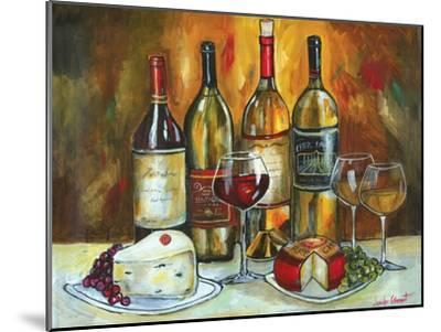 Wine and Cheese-Jennifer Garant-Mounted Giclee Print