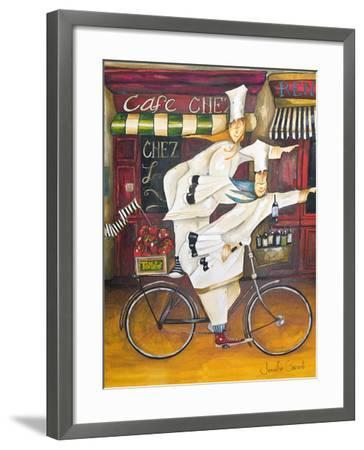 Chefs on the Go-Jennifer Garant-Framed Giclee Print
