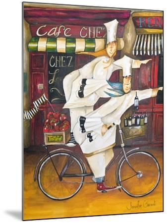 Chefs on the Go-Jennifer Garant-Mounted Giclee Print
