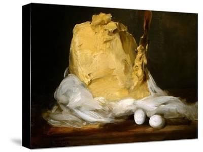 Mound of Butter-Antoine Vollon-Stretched Canvas Print