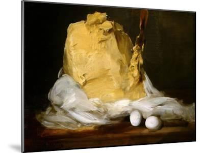 Mound of Butter-Antoine Vollon-Mounted Giclee Print