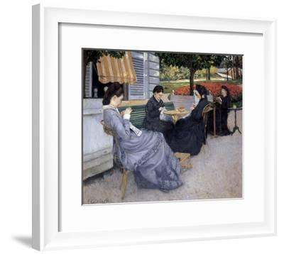 Portraits in the Country-Gustave Caillebotte-Framed Giclee Print