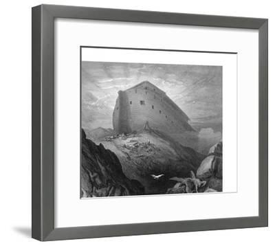 Dove Sent Forth from the Ark-Gustave Dor?-Framed Giclee Print