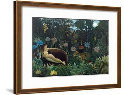 The Dream-Henri Rousseau-Framed Giclee Print