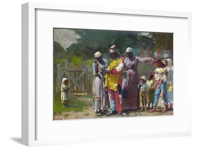 Dressing for the Carnival-Winslow Homer-Framed Premium Giclee Print