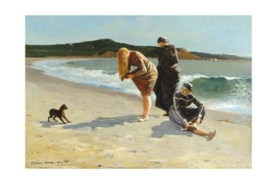 Eagle Head, Manchester, Massachusetts (High Tide)-Winslow Homer-Stretched Canvas Print