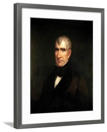 Portrait of President William Henry Harrison-James Reid Lambdin-Framed Giclee Print