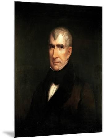 Portrait of President William Henry Harrison-James Reid Lambdin-Mounted Giclee Print