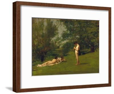 Arcadia-Thomas Cowperthwait Eakins-Framed Giclee Print