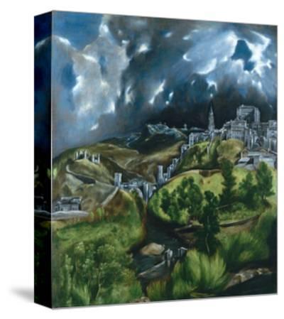 View of Toledo-El Greco-Stretched Canvas Print
