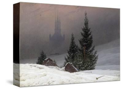 Winter Landscape-Caspar David Friedrich-Stretched Canvas Print