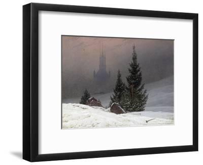 Winter Landscape-Caspar David Friedrich-Framed Giclee Print