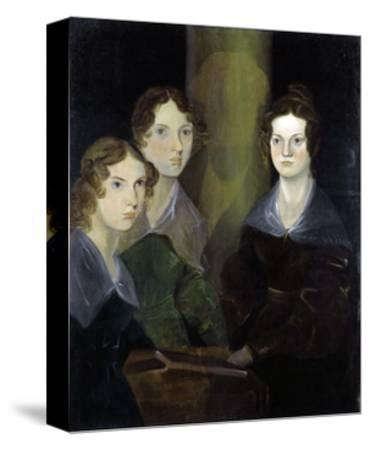 The Bronte Sisters-Patrick Branwell Bronte-Stretched Canvas Print