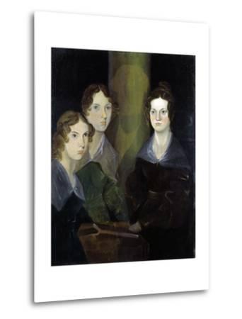 The Bronte Sisters-Patrick Branwell Bronte-Metal Print