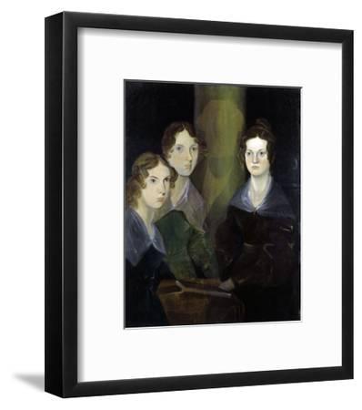 The Bronte Sisters-Patrick Branwell Bronte-Framed Giclee Print